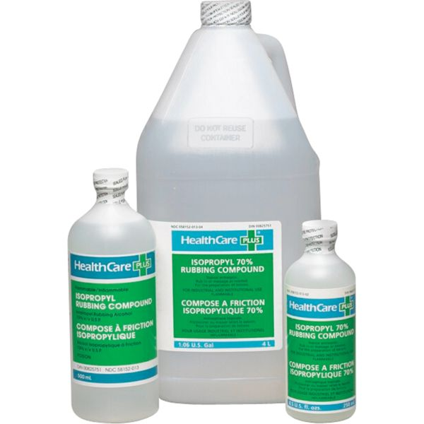 SAM947 Isopropyl Rubbing Alcohol 70% Antiseptic DISINFECTANT 250ML HEALTH CARE PLUS