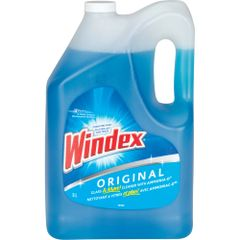 JB472 WINDEX LIQUID GLASS CLEANER 4x5L/CS SC JOHNSON FAMILY