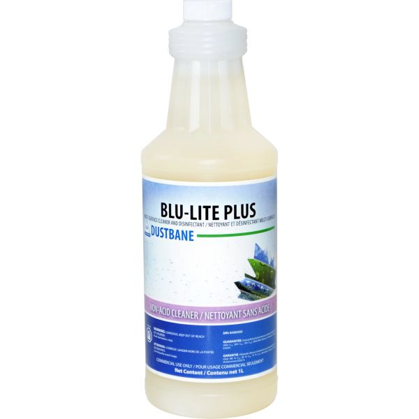 JG666 Blu-Lite Plus Multi-Surface Cleaner and Disinfectant 1LITRE/JUG #53757 DUSTBANE