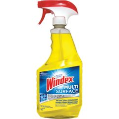 JK658 Windex® Multi-Surface Antibacterial Disinfectant 765 ml TRIGGER SPRAY Bottle Kills 99.9% of Household Bacteria