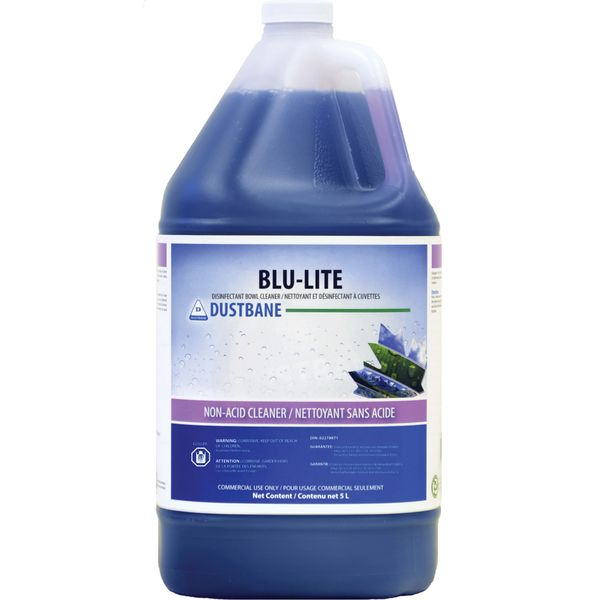 JH381 Disinfectant Bowl Cleaner Blu-Lite 5L BOTTLE #53749 DUSTBANE