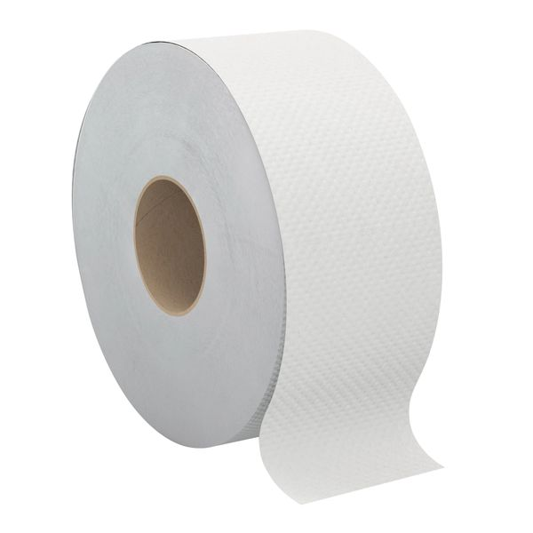 JG795 TOILET PAPER, JUMBO JR. 2PLY x 750' 12/CS WHITE #B221 CASCADES PRO SELECT