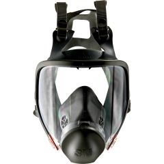 SAJ014 Powerflow Face-Mounted Powered FULL FACE 3M Air Purifying Respirator ONLY (PAPR) #6800DIN 3M MEDIUM (Accessories are not included)