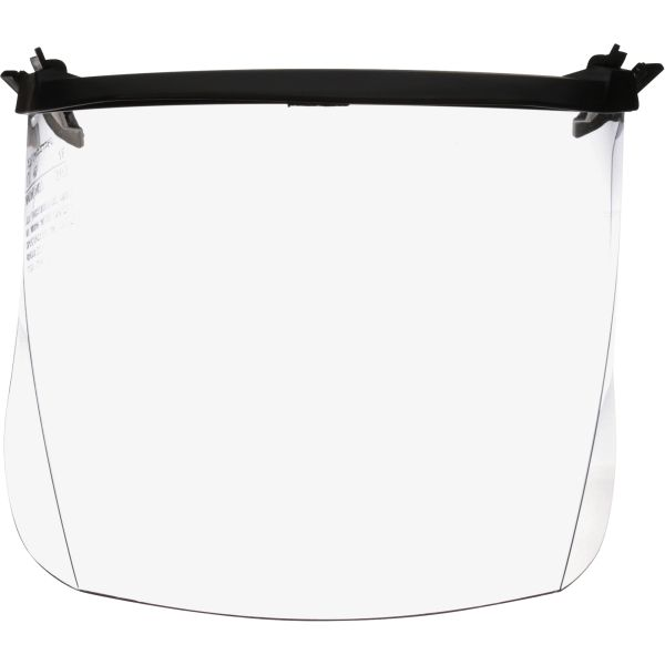 "SGE692 3M Polycarbonate Multi Visor Faceshield Height 6-5/7"" Width 11-3/7"" Thickness .04"" #V4F"