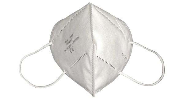 SGU387 KN95 Particulate Respirator FACE MASK Flat Fold Clip & Soft Foam Nose Piece CE/FDA-Approved SIZE: Medium/Large