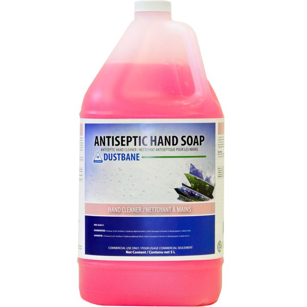 JH386 Antiseptic Hand LIQUID Soap Bronopol, Triclosan #51732 DUSTBANE SCENTED 5Lx4/CS DIN: 00564311