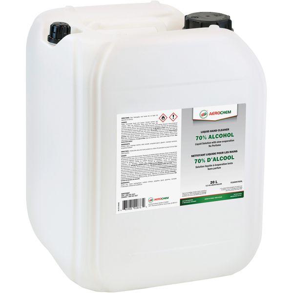 JM251 Hand Sanitizer Liquid 70% Alcohol 20litre Container #FLSANIH7020L AEROCHEM