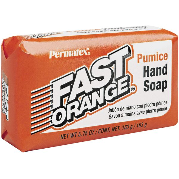 JK722 Hand Bar Soap 5.75 oz. Permatex Pumice Fast Orange® Scented #25575