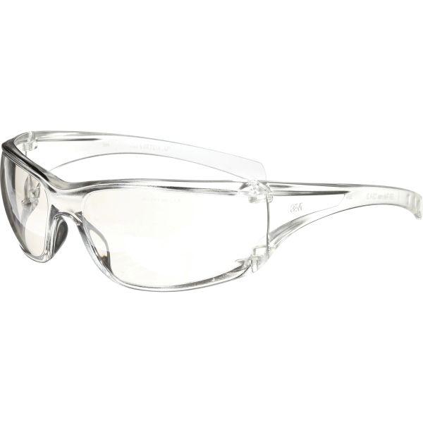 SDB137 3M Virtua AP Safety Glasses CLEAR Frameless Wraparound Side-Sheild Anti-Scratch Indoor/Outdoor Mirror #11847-00000-20