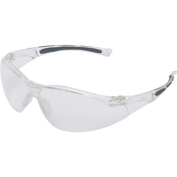 SAP435 Safety Glasses WrapAround Anti-Scratch Frameless Clear Lens #A800 UVEX BY HONEYWELL (5 PAIRS/BOX)