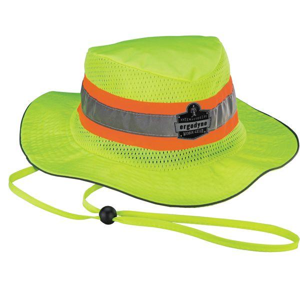 SEL861 Chill-Its® 8935CT Evaporative Cooling Ranger Hat PVA MATERIAL ERGODYNE HI-VIZ LIME (SML/MED - LRG/EXL)