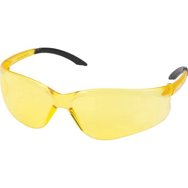 SET317 Safety Glasses Z2400 Series AMBER Anti-Scratch Wraparound Frameless UVA/UVB protection ZENITH
