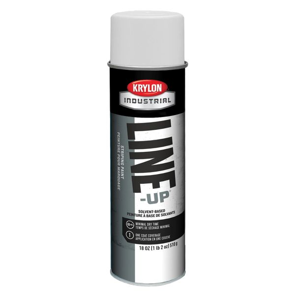 NE335 Industrial Line-Up® Pavement Striping Paint 20 oz.CAN SOLVENT-BASED KRYLON (VARIOUS COLORS)