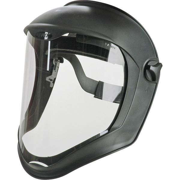 "SAK422 Uvex® Bionic™ FACESHIELD 8-1/2""H x 16-1/2""W 0.06""Thick Polycarbonate Clear ANTI-FOG Ratchet #S8510 HONEYWELL"