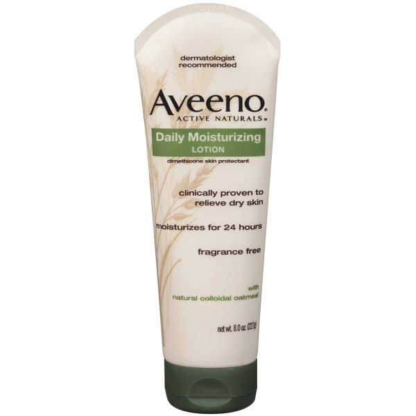 JK540 Daily Moisturizing Lotion ACTIVE NATURALS® Colloidal Oatmeal 8oz Tube AVEENO