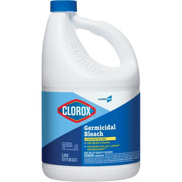 JN036 Clorox® Germicidal Bleach 8.25% Sodium Hypochlorite 3.57L/BTL #3880966
