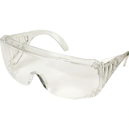 SD692 SAFETY GLASSES VENTED SIDESHEILD WRAP-AROUND CLEAR LENS #9810 YUKON