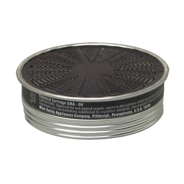 SAG124 Comfo® Respirator Cartridges Gas/Vapour Cartridge MSA #464031 1/PK (USE WITH SAG070)