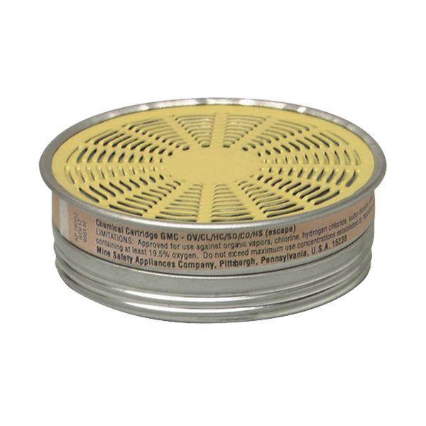 SAG129 Comfo® Respirator Cartridges Organic Vapour/Acid Gas MSA #464046 1/PK (USE WITH SAG070)