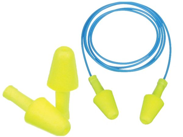 SGT781 E-A-R™ Flexible Fit Foam 3M Earplugs NRR 30dB Uncorded or Corded #328-1000/1001 100PR/BX