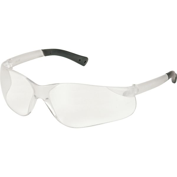 SAN311 Safety Glasses Bear Kat® Wraparound Clear Lens Anti-Scratch CREWS #BK110