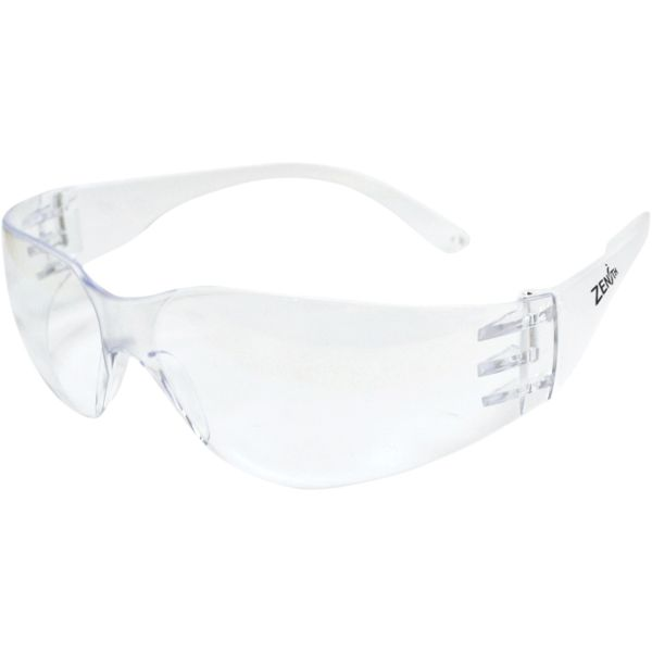 SGU581 Safety Glasses, CLEAR Scratch-Resistant Frameless ANSI Z87+/CSA Z94.3 ZENITH