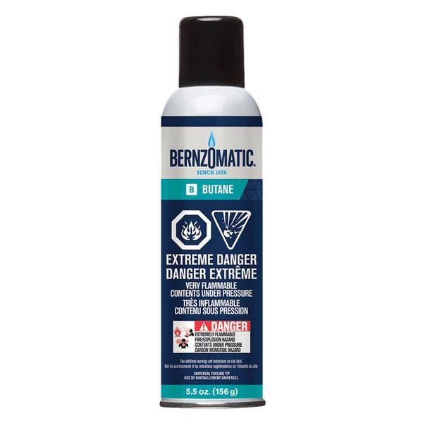 TTU636 Butane 5.5-oz. Can Disposable Cylinder #329853 BERNZOMATIC
