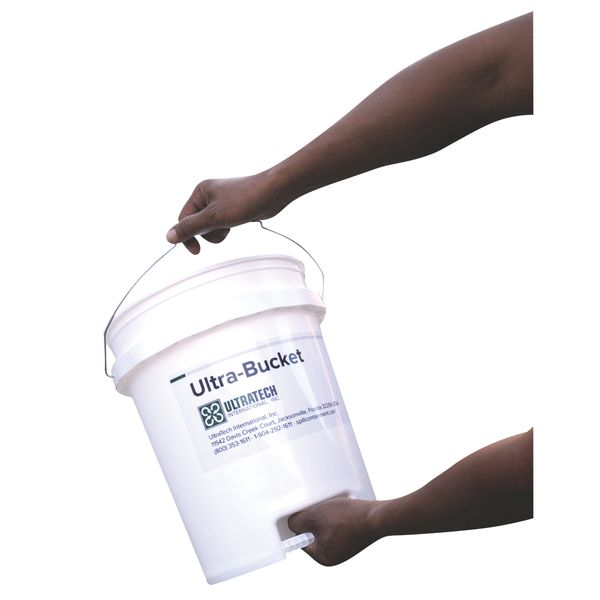 JH227 Ultra-Bucket® 5gal-Pail Ergonomic Design Heavy-duty HDPE Construction Plastic #660 ULTRATECH
