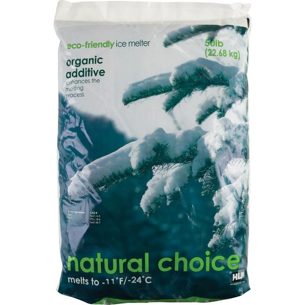 **DISCONTINUED** JB598 Natural Choice Ice Melter down to -11º F / -24º C Eco-friendly #N0050B HLF DIVERSIFIED 22.68 kg (50 lbs.)