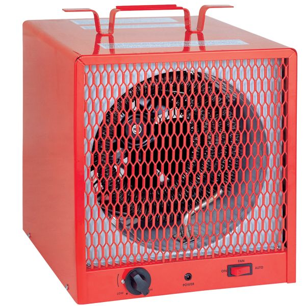 EA477 Contractor Construction Electric Heater Carry Handle Volt:240 Watt:5600 Amps:23.24 BTU/H:19 100 #6-30P MATRIX