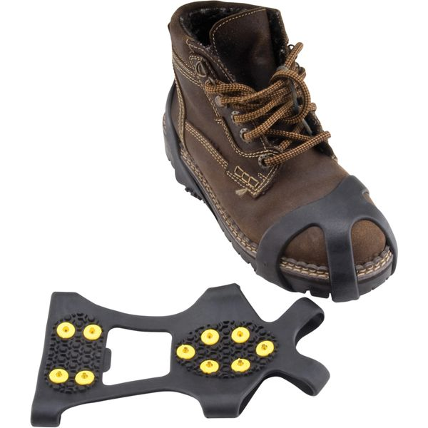 SGO246 Anti-Slip Spark-Proof Ice Cleats BRASS Spikes (Medium 5-8 , Large 8-11, X-Large 11-13) 1 PAIR/PK ZENITH
