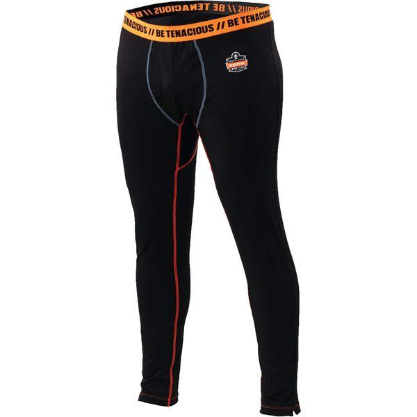 SEC967 PANTS, Thermal Base Layer Stretch fabrics ANTI-STINK Black (Sz's M - 3XL) ERGODYNE