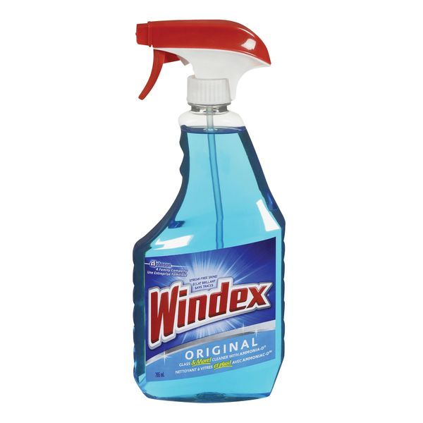 JA909 Windex® Glass Cleaner 26 fl. oz. Trigger Bottle Model No.#1 00 59200 80770 1