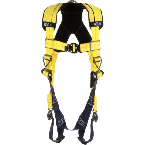 SEB391 FALL ARREST PROTECTION CSA Class A Weight Cap:420 lbs. Size:Universal D-Rings Back Leg Strap Connections Quick-Connect Delta Harnesses No.#1110600C 3M DBI SALA