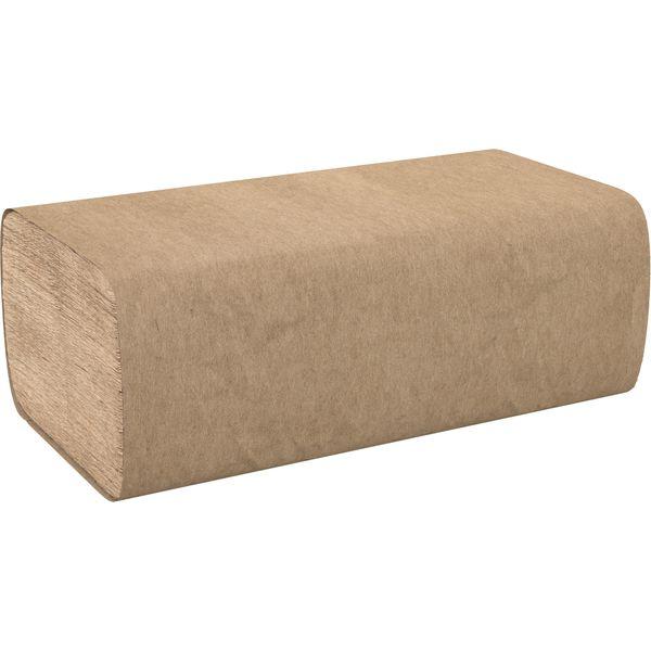 "JH119 Singlefold Hand Towels 1-Ply Width 9 4/9"" x Length 9"" 16PKx 250/PK Natural CASCADES PRO SELECT #H115"