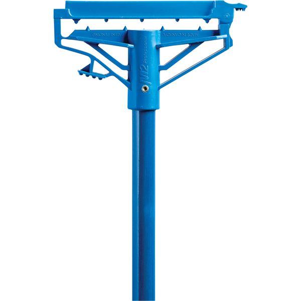 """JN055 Step-N-Go Mop Handle M2 Fiberglass 60""""L x 1""""D Tip Style Open Gate Colour Blue PROFESSIONAL #HW-7000F (Use with JM858 or JM887)"""