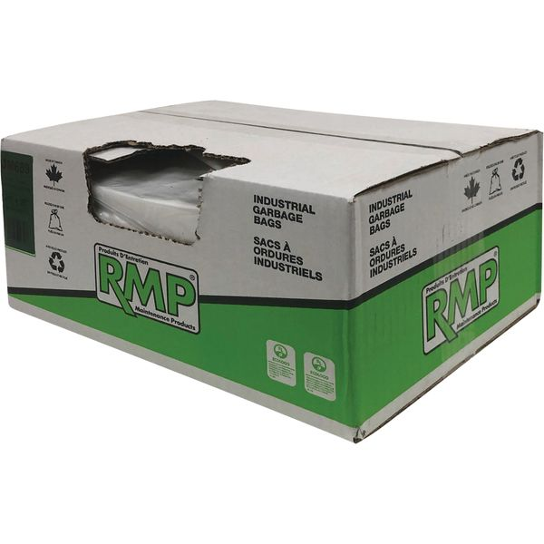 """JM689 STRONG Bags, CLEAR 36""""L x 26""""W 0.9 mils Recycled Material Type:Open Top RMP (Various Sizes)"""