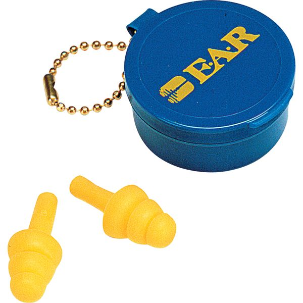 SH111 E-A-R™ Ultrafit™ Premolded Reusable Earplugs One-Size • NRR 25dB • CSA Class AL w/Carrying Case (Corded or Uncorded)