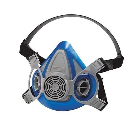 SAG061 Advantage®, SINGLE NECK STRAP 200 LS Series Half-Mask Facepiece Respirator AnthroCurve ™ Sealing Thermoplastic #815448 MSA SMALL (MED/LAR)