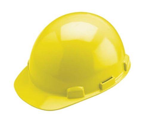 SFY824 Hardhat, Ratchet Suspension, Stromboli Yellow #HP842R DYNAMIC SAFETY