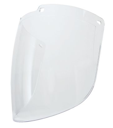"SFQ566 Uvex Turboshield Visor ANTI-FOG FACE SHIELD ONLY Height: 8-1/2"" Width: 12-1/2"" Thickness: 0.09"" Material: Polycarbonate HONEYWELL #S9550 (FITS SEJ800 HEADGEAR)"