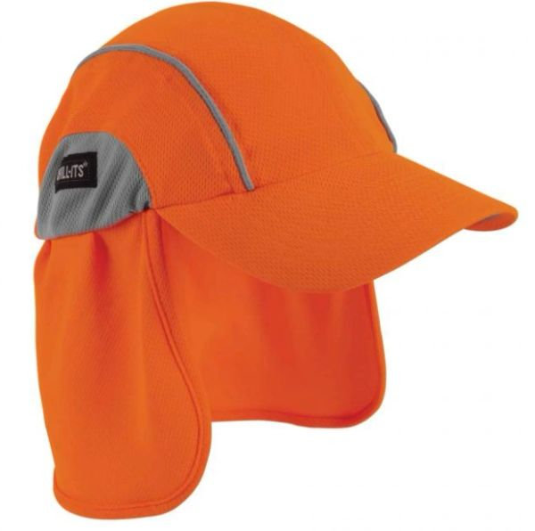 SEC713 Chill-Its® 6650 Cooling Hats Neck Shades ERGODYNE #12521 (Orange or Hi-Viz Lime)