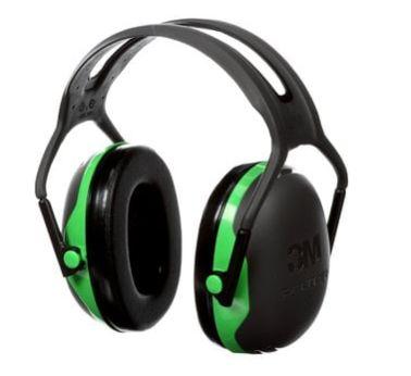 SEJ034 Earmuffs, Headband, Low Profile 22 NRR dB #X1 Series 3M Peltor CLASS A