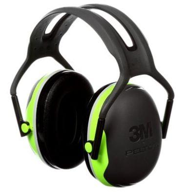 SEJ037 Earmuffs, Headband, 27 NRR dB #X4 Series 3M Peltor CLASS AL
