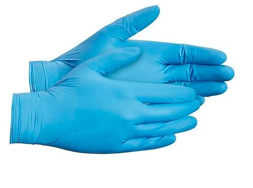 "SAW937 TouchNTuff® Blue #92-675 Gloves, Powder-Free Nitrile Length: 9.5"" Thickness: 5-mil (SZ SML-XLR) ANSELL 100/BX ""Not for medical use"""