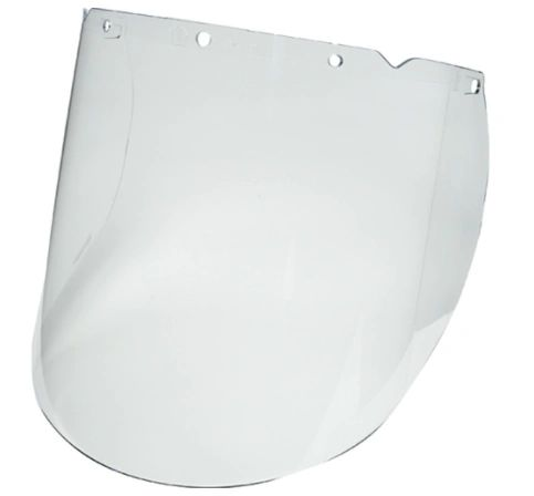 "SEL085 V-Gard ® Visor 18W""x9 1/4H"" for Chemical and Splash Applications (Fits HEADGEAR SEJ998) MSA"