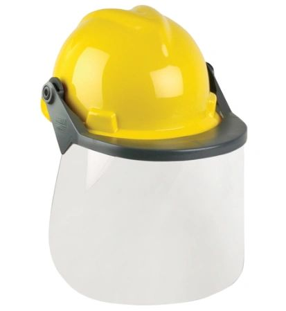 SAM401 Head & Face Protection Systems 1 SAF960 V-Gard ®yellow hard hat 1 SEJ998 Frame for V-Gard ® 1 SEK030 Clear polycarbonate faceshield
