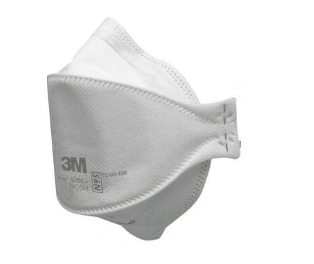 SGW584 Respirator Particulate, N95 9205+ NIOSH Certified Aura™ Flat-Fold, Skilled Trades: Reduces Fogging White, Standard Size, 3M CANADA ***PRE-ORDER FOR MAY/JUNE ARRIVAL***