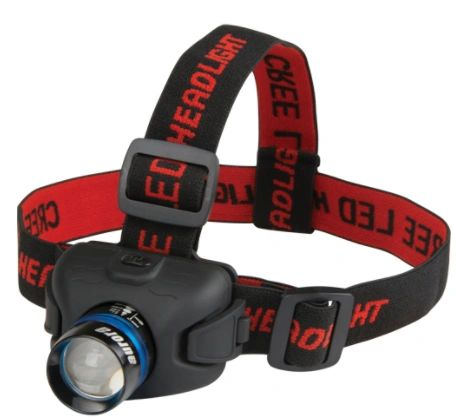 XE887 LED Headlamp 120 Lumens - Run Time 6HRS AURORA TOOLS