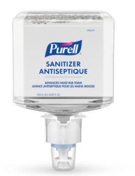 JK491 ES4 Advanced Foam Hand Sanitizer, 1200 ml, Cartridge Refill, 70% Alcohol #5051-02 PURELL 2/BOX